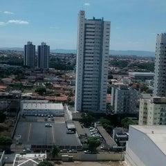 Photo taken at Jardim das Américas by Aleph S. on 8/26/2015