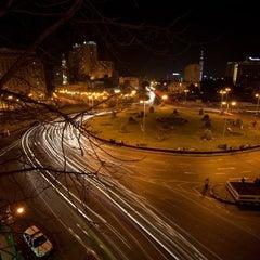 Photo taken at Tahrir Square   ميدان التحرير by 4SQ E. on 11/19/2012