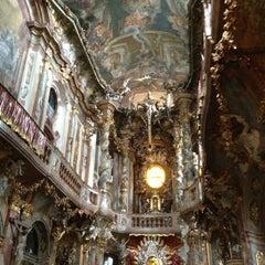 Das Foto wurde bei Asamkirche (St. Johann Nepomuk) von Andrés am 8/19/2013 aufgenommen