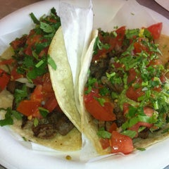 Photo taken at Malena's Tacos by Felix L. on 4/19/2013