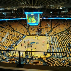 Photo taken at Oracle Arena by Felix R. on 5/11/2013