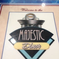 Photo taken at Majestic Diner by Jessica W. on 8/14/2013