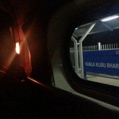 Photo taken at KTM Komuter Kuala Kubu Bharu (KA14) Station by sook.yim on 10/1/2014