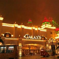 Photo taken at Galaxy Macau 澳門銀河渡假綜合城 by Pinch T. on 11/27/2012
