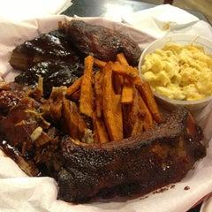 Photo taken at Brett's BBQ by Jennifer R. on 6/2/2013