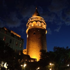 Photo taken at Galata Kulesi by Refik İ. on 5/31/2013