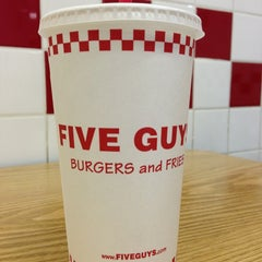 Photo taken at Five Guys by Brian P. on 1/13/2013