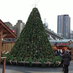 Photo taken at Vancouver Christmas Market by Erin L. on 12/16/2012