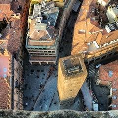 Photo taken at Torre Degli Asinelli by Francesca T. on 3/16/2013
