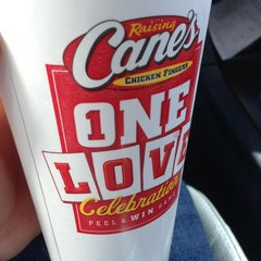 Photo taken at Raising Cane's Chicken Fingers by Nathan P. on 2/18/2013