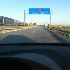 Photo taken at Greece Kipoi Border Station (Tελωνείο Kήπων) by Kerem S. on 5/26/2013