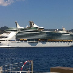 Photo taken at Porto di Messina by Emilio B. on 7/1/2013