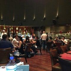 Photo taken at Chamas Churrascaria & Bar مطعم شاماس البرازيلي by Chris K. on 6/14/2013