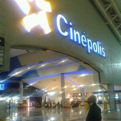 Photo taken at Cinépolis by Alvaro S. on 1/27/2013