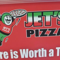 Photo taken at Jet's Pizza by Michelle O. on 5/18/2013