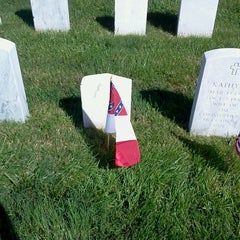 Photo taken at Hampton National Cemetery by Dave W. on 5/25/2013