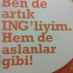 Photo taken at ING Bank Genel Müdürlük by Melike D. on 2/27/2013