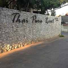 Photo taken at Thai Pura Resort by Nink C. on 3/12/2013