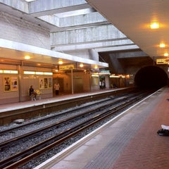 Photo taken at Conway Park Railway Station (CNP) by Mark J. on 3/6/2012
