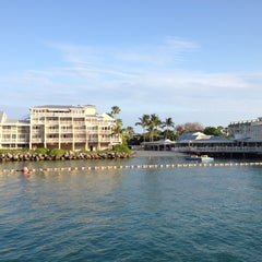 Photo taken at The Pier House Resort & Spa by Stephanie ☥ S. on 5/10/2012