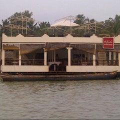 Photo taken at Poovar Island Resort by Anant M. on 6/10/2013