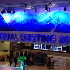 Photo taken at World Economic Forum (WEF) by Guillaume -. on 1/21/2013