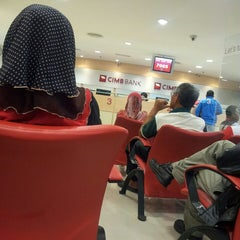 Photo taken at CIMB Bank by Hafify R. on 2/13/2013