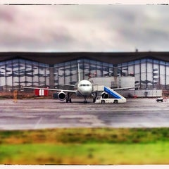 Photo taken at Аэропорт Пулково-2 / Pulkovo-2 Airport (LED) by Alex Z. on 11/20/2013