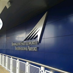 Photo taken at Birmingham-Shuttlesworth International Airport (BHM) by Man_Used👽👾👽 on 6/27/2013