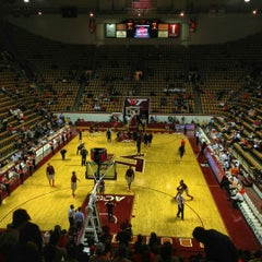 Photo taken at Cassell Coliseum by Tj D. on 12/1/2012