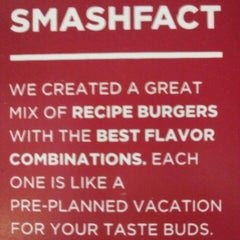 Photo taken at Smashburger by Jungle Red Salon and Spa on 5/23/2013