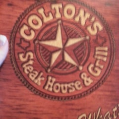 Photo taken at Colton's Steak House by Samantha C. on 12/5/2012