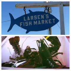 Photo taken at Larsen's Fish Market by Lynn Z. on 8/15/2013