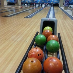 Photo taken at Unimas Bowling Alley by Fatin N. on 11/7/2014