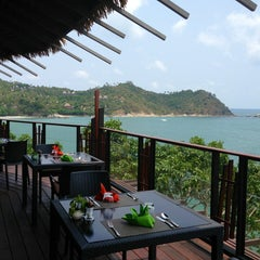Photo taken at Panviman Resort Koh Phangan by Elena P. on 3/24/2015