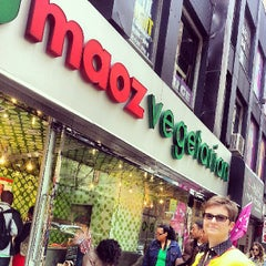 Photo taken at Maoz Vegetarian by Dave W. on 5/12/2013