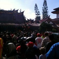 Photo taken at Kelenteng Eng An Kiong by true t. on 2/10/2013