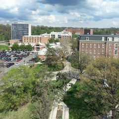 Photo taken at Roesch Library by Jeremy M. on 5/3/2014
