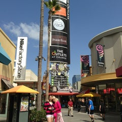 Photo taken at The Outlets at Orange by Jarka W. on 4/8/2013