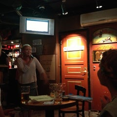 Photo taken at Karaoke Bar Restroom by Antti I. on 6/26/2013