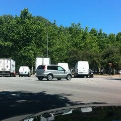 Photo taken at Parc Gandhi by Javier I. on 6/13/2013