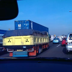 Photo taken at Gerbang Tol Ancol Barat by Michel Alexandre S. on 5/7/2014