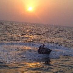 Photo taken at Blue Beach Resorts || شاليهات الشاطئ الأزرق by Abdullah S. on 3/27/2013