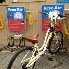 Photo taken at Hermosa Cyclery by Laura S. on 6/1/2013