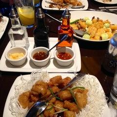 Photo taken at P.F. Chang's Asian Restaurant by Carolina C. on 1/19/2013