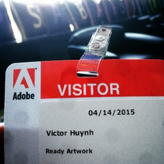 Photo taken at Adobe by Victor H. on 4/14/2015