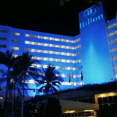 Photo taken at Hilton Cartagena by Christian Guillermo G. on 12/2/2012