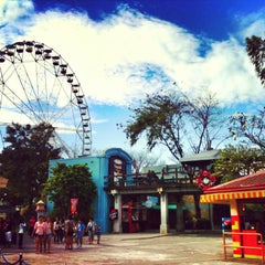 Photo taken at Enchanted Kingdom by Gwen A. on 1/5/2013