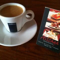 Photo taken at Altzaga Restaurante by Cristian C. on 8/17/2011