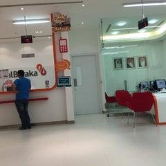 Photo taken at Albaraka Bank Ramli Mall by Sayed Maitham A. on 12/10/2014